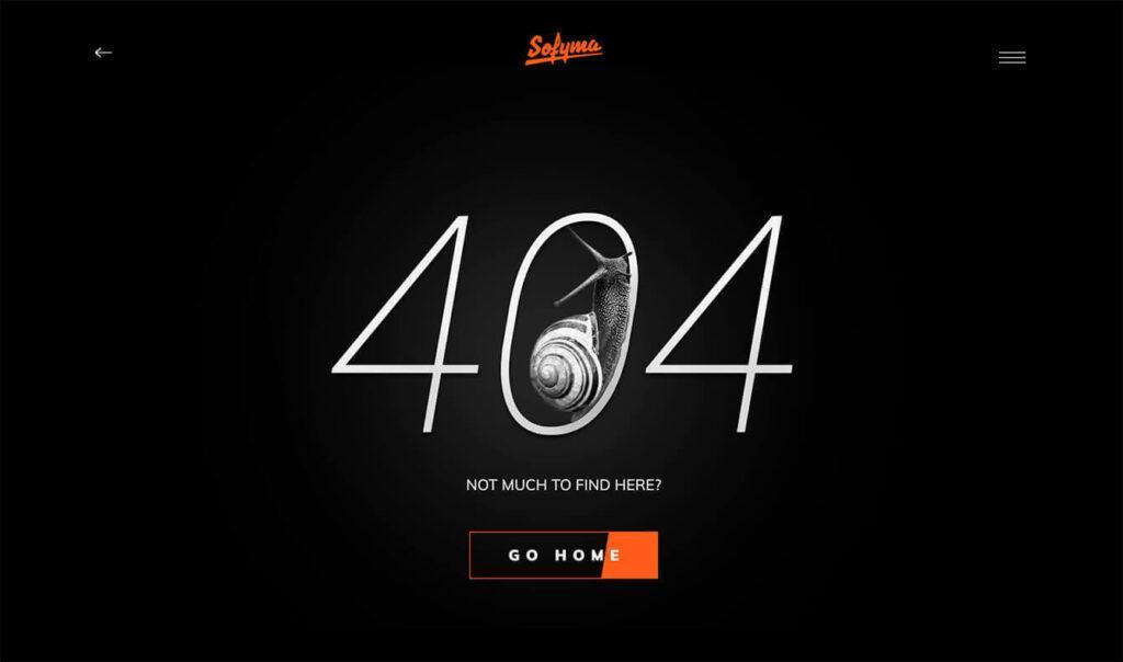 404 error custom page